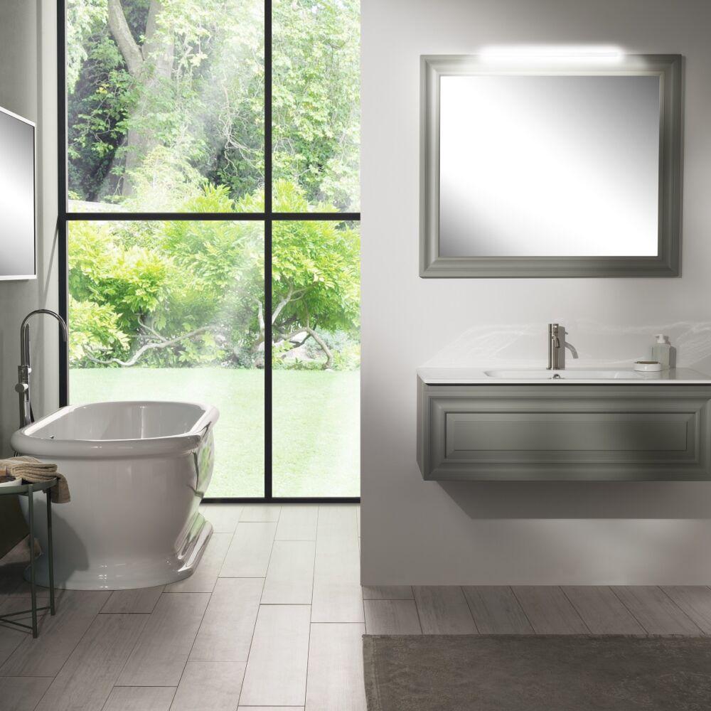 Gaia Mobili - complementi – contemporary – mobili - ritratto - lavabo in ceramica e mobile laccato