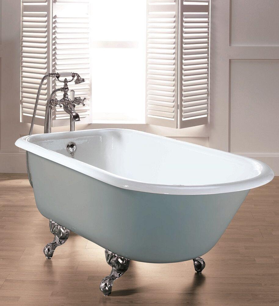 Gaia mobili - collection - bathtubs - Roll Top 154/170 - Cast iron bathtub