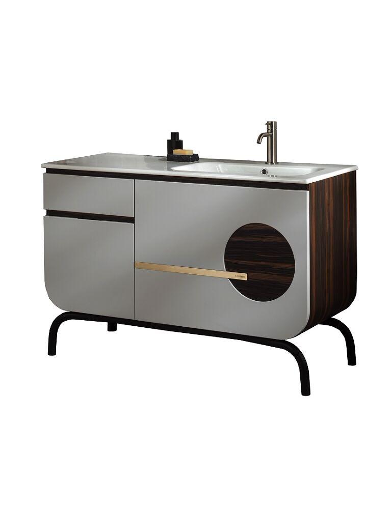 Gaia Mobili-Collection-Furniture-Studio-Round 2 - lavabo in ceramica e mobile laccato