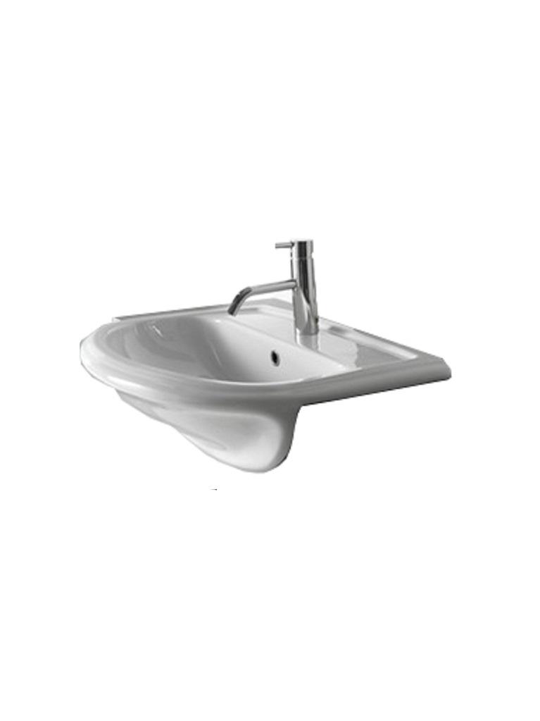 Gaia Mobili - complementi - lavabi - lavabi ceramica - SEMINCASSO - lavabo in ceramica semincasso