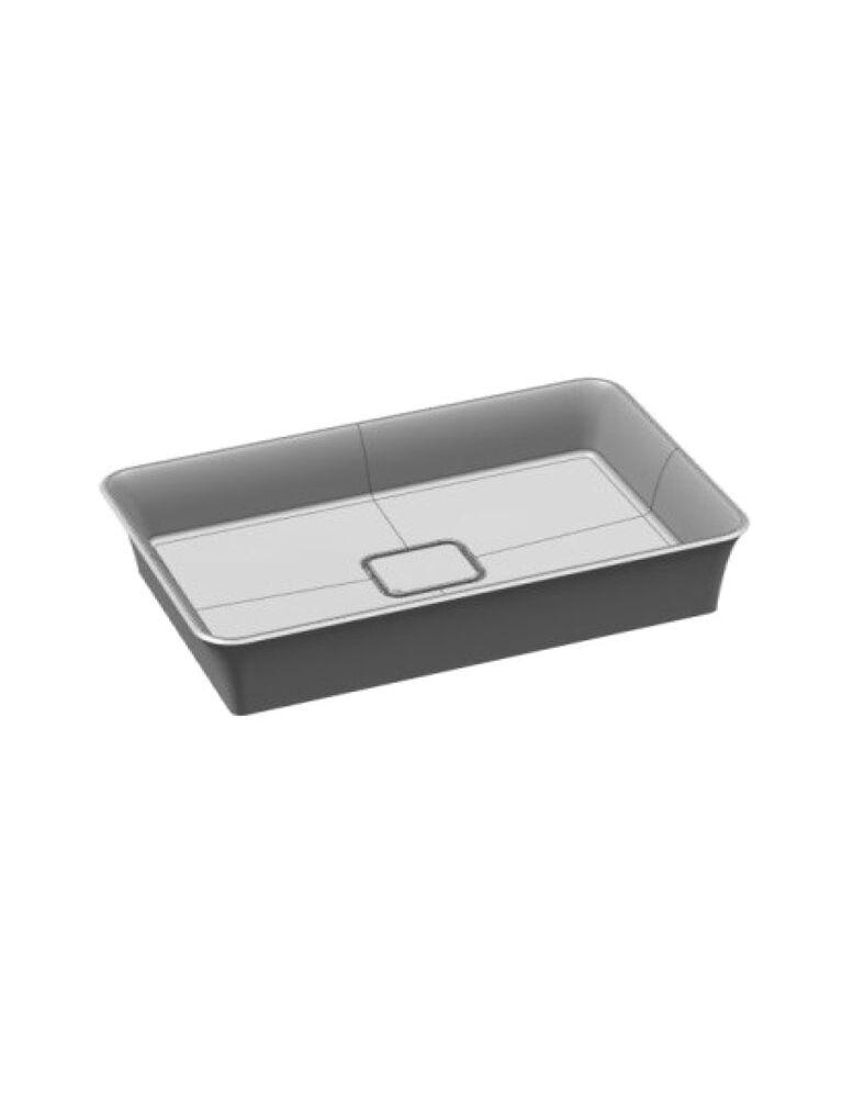 Gaia Mobili - complementi - lavabi - lavabi resina - SKIN1 - Lavabo in resina da appoggio
