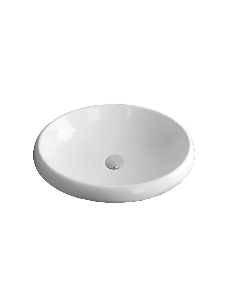 Gaia Mobili - complementi - SOPRA2 - Lavabo in ceramica soprapiano cm 56x43