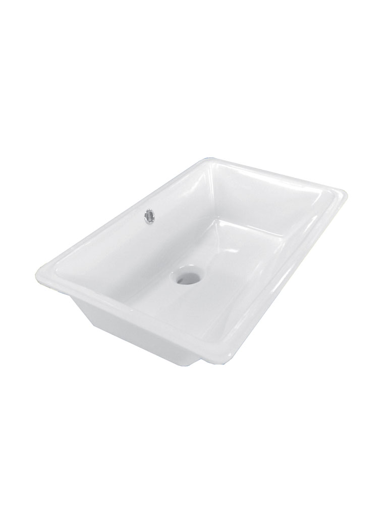 TECH SOTTOPIANO - lavabo in ceramica sottopiano
