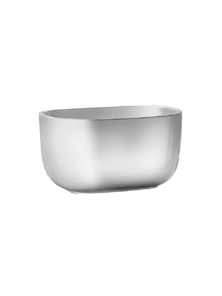 Gaia Mobili - complementi - lavabi - lavabi ceramica - TUB - lavabo in ceramica da appoggio cm 55x38x30h