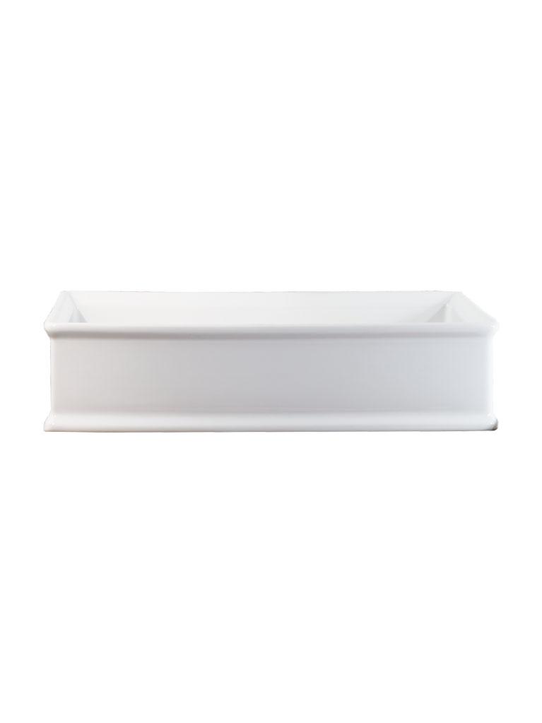 Gaia Mobili - complementi - lavabi - lavabi ceramica - URBAN - lavabo in ceramica da appoggio