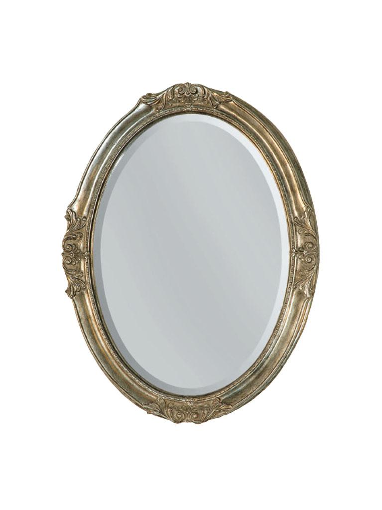 Gaia Mobili - complementi - specchiere - Veneto - 62x82 Specchio Foglia Argento Anticato