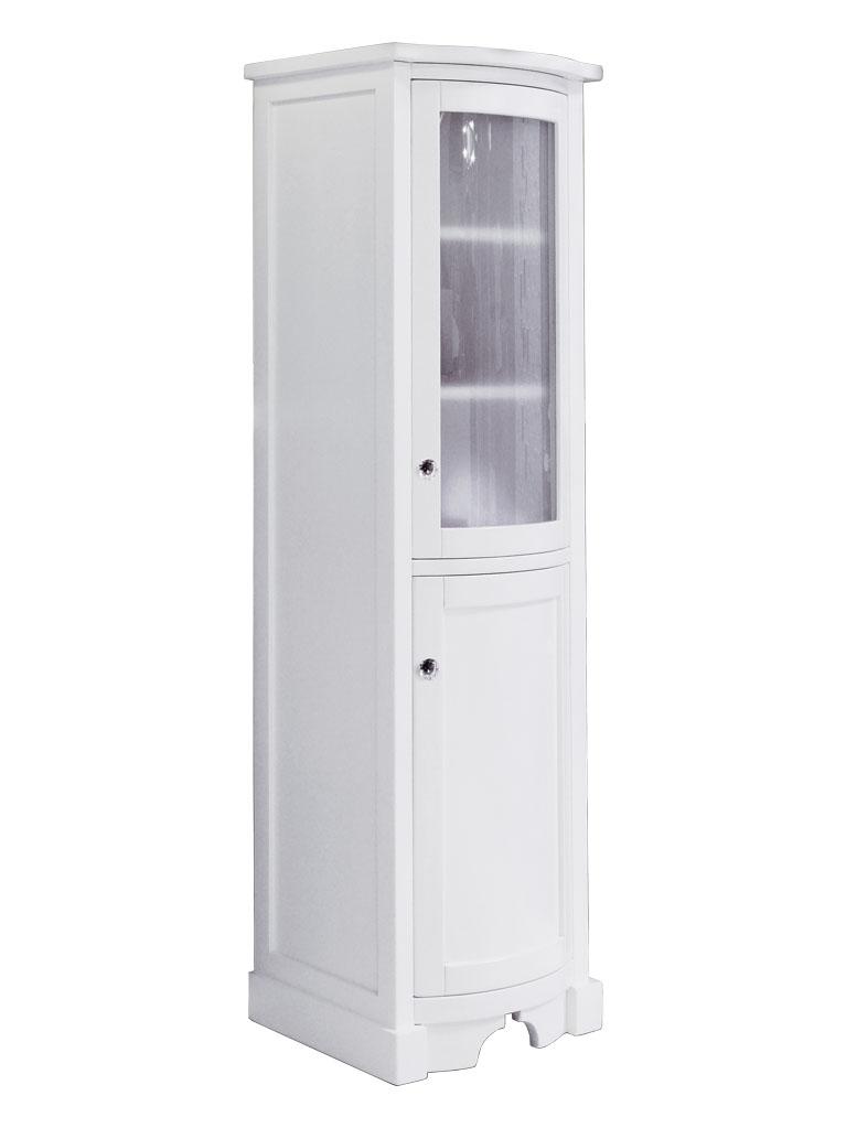 Gaia Mobili - classic - complementi - mobili - Vetrina Babila - 50x40x162 Finitura laccato opaco