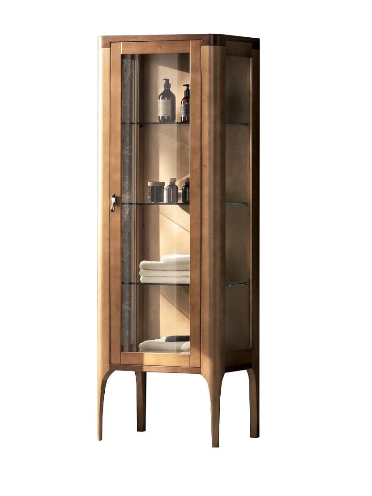 Gaia Mobili - complementi - mobili – new style - vetrina majestic - cm 60x40x160h