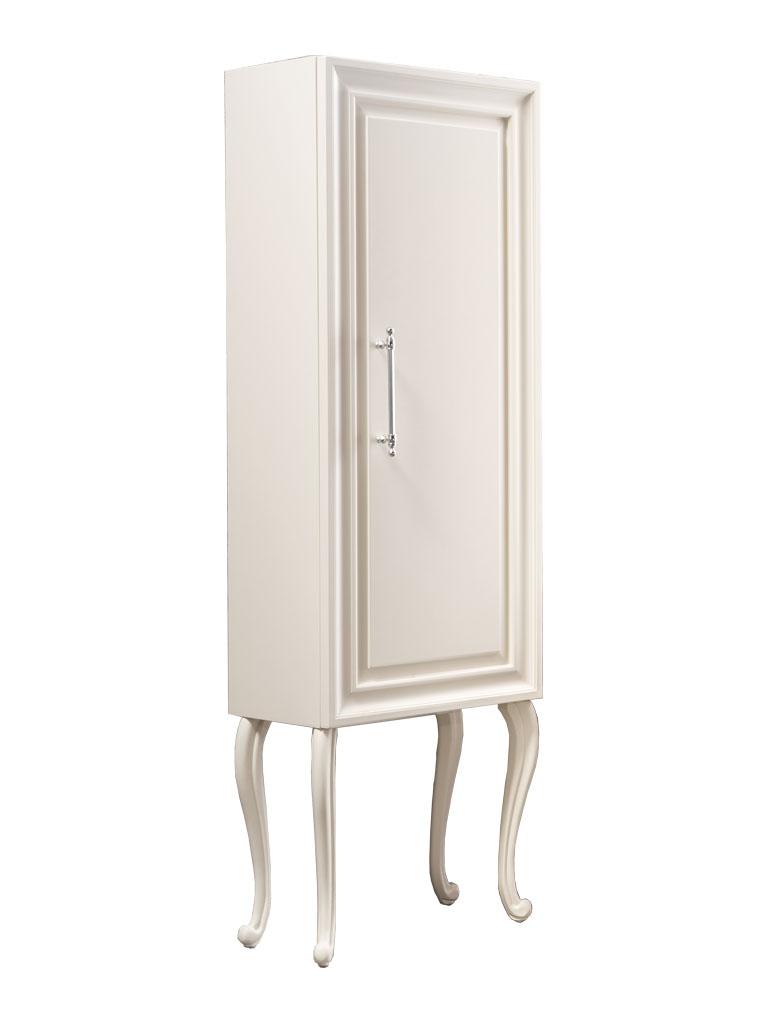 Gaia mobili - complementi - Contemporary - mobili - Vetrina Rimmel 1 - Finitura laccato opaco RAL 1013 55x35x180h