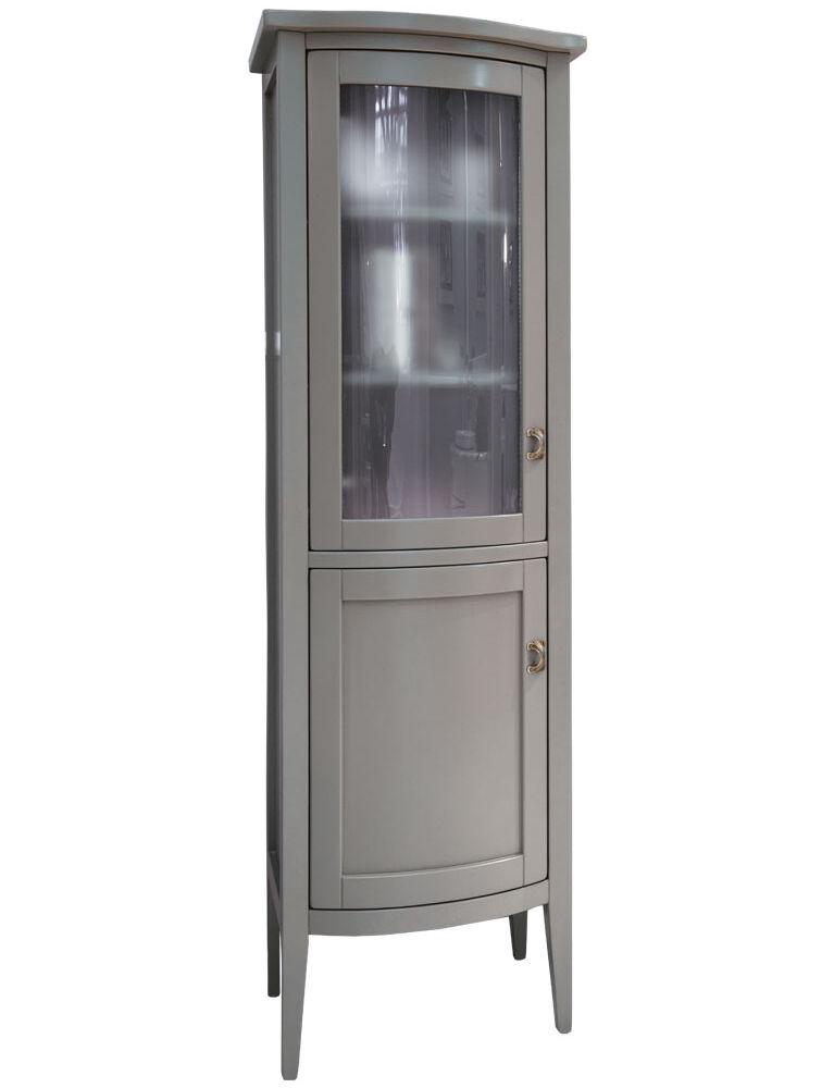 Gaia Mobili - Classic - complementi - mobili - Vetrina Taylor - Mobile in Finitura Laccato Opaco 50x40x162h