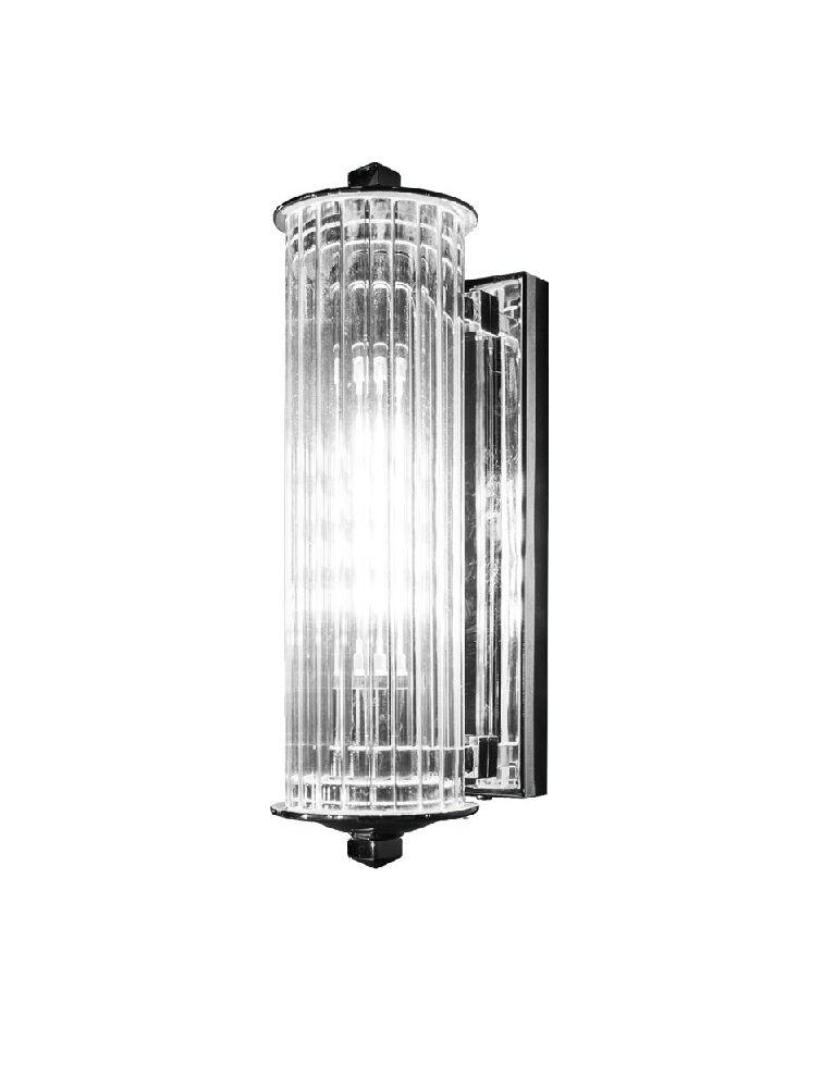 APAM60 Vintage - lampada con tubo in vetro