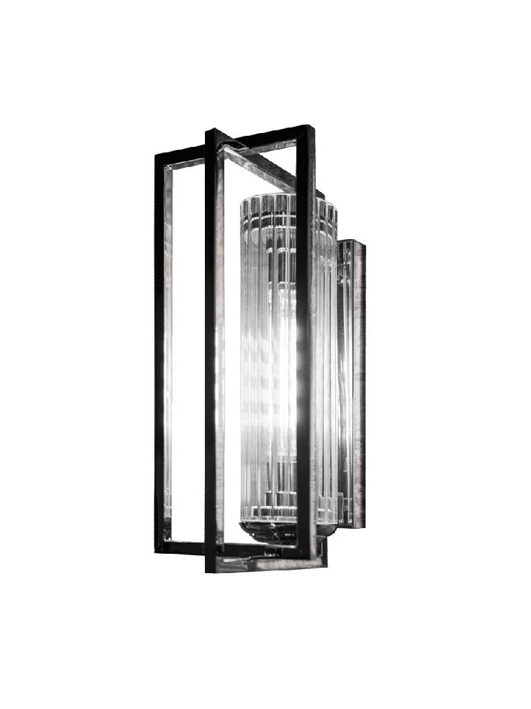 Gaia Mobili - complementi - illuminazione - APAM61 Vintage - Lampada in ottone squadrata