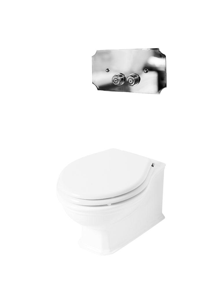Gaia Mobili - complementi - Denver - sanitari - PHDV01 - Vaso in ceramica sospeso
