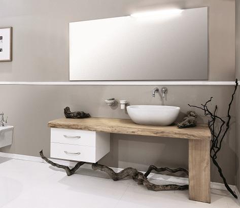 Gaia Mobili - complementi - Industrial - mobili - Wood 2 - Mobile in Castagno Naturale Laccato Opaco