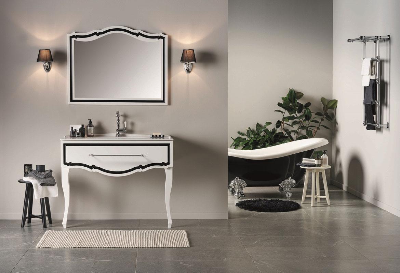 collezione Stile arredo bagno contemporaneo e classico artigianale