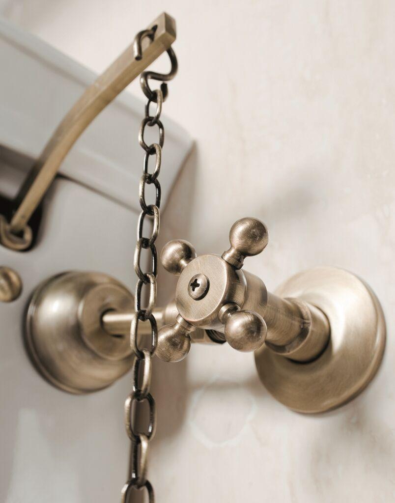 finitura bronzo complementi d'arredo per il bagno